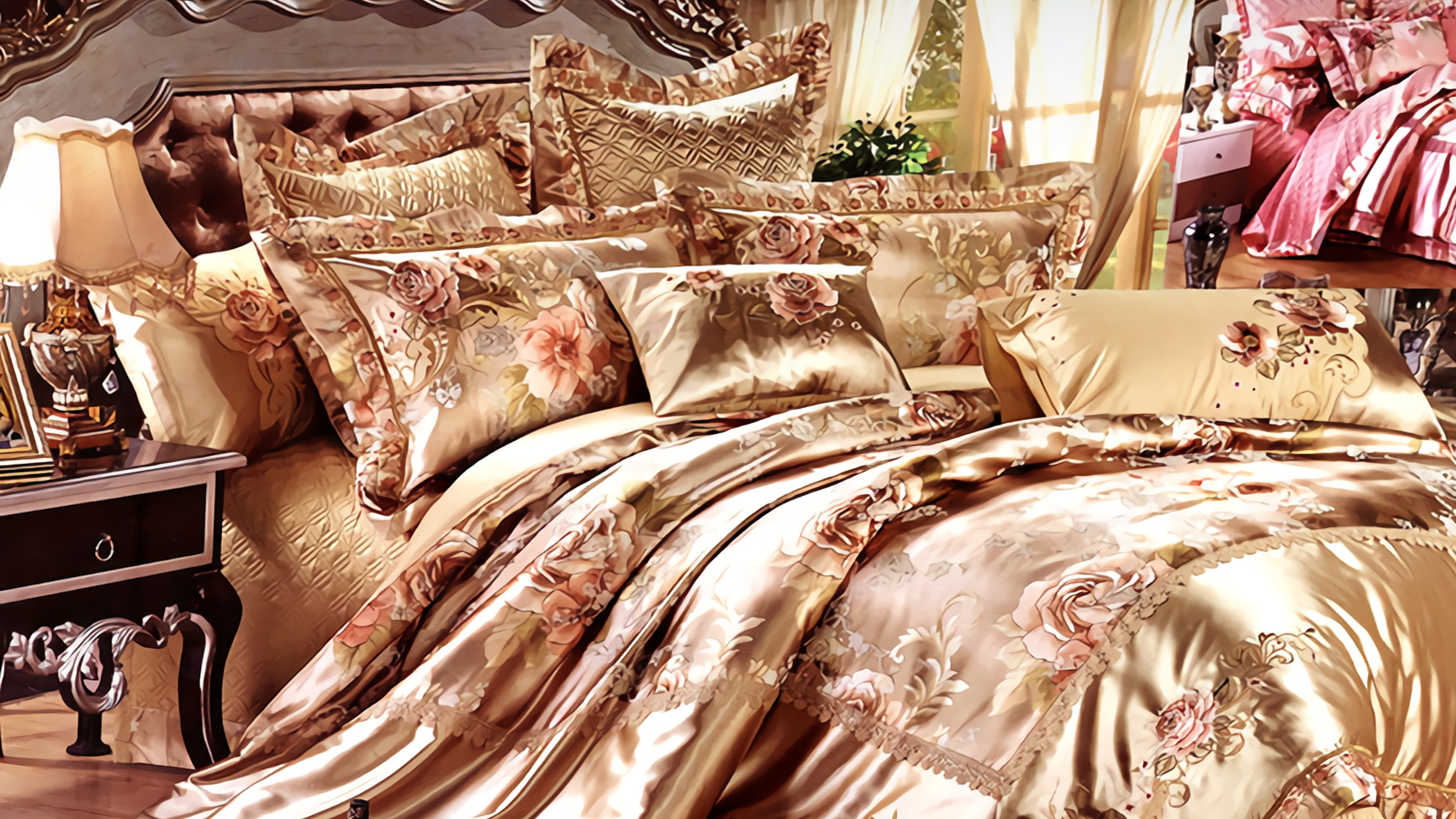 Our main series include bedspreads